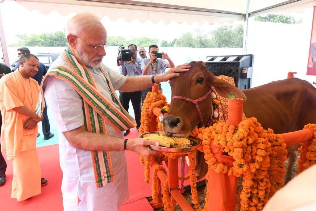 رئيس وزراء الهند ناريندرا مودي في نيودلهي، في 16 أغسطس/آب 2019.