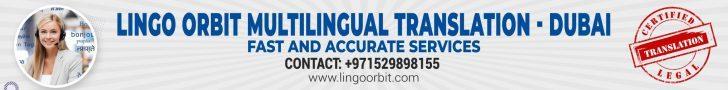 Lingo Orbit Best Translation Service in Dubai